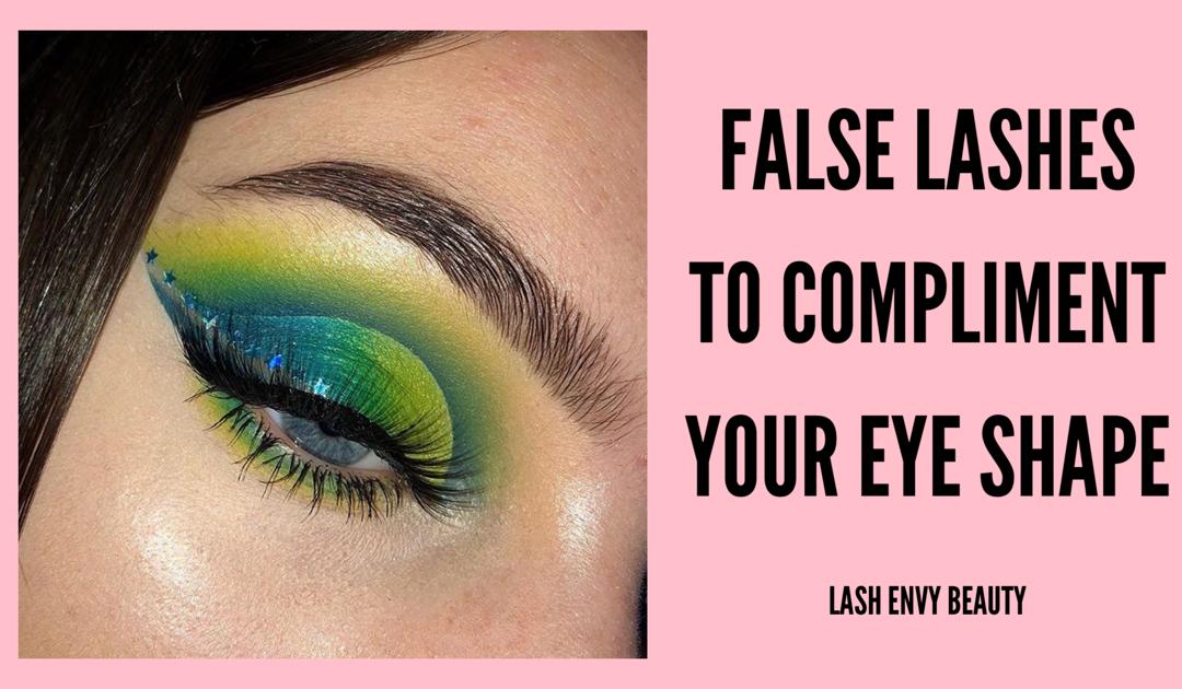 False Eyelashes to Compliment Your Eye Shape