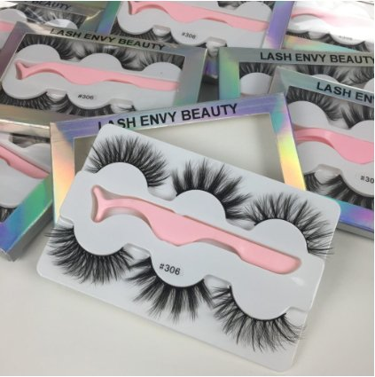 Luxury 3D Faux Mink Eyelashes Gift Set Multi Pack Lash Envy Beauty 306
